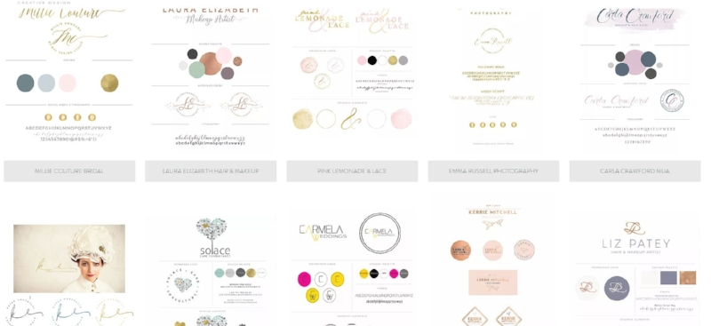 Brand designs by  Studio Spence
